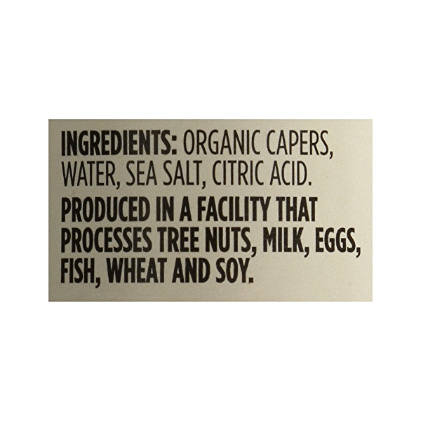 Organic Non-pareil Capers, 2 oz 8
