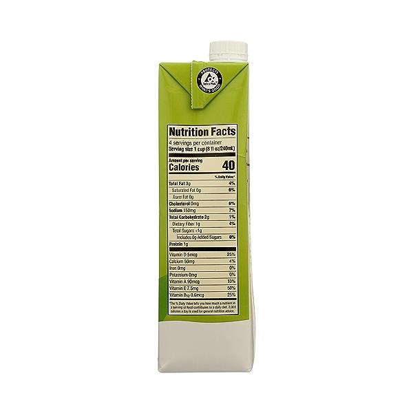 Organic Unsweetened Original Almondmilk, 32 fl oz 5