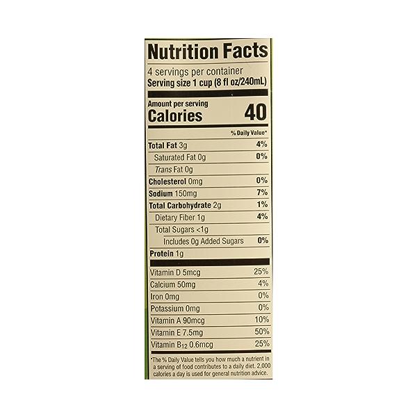 Organic Unsweetened Original Almondmilk, 32 fl oz 7