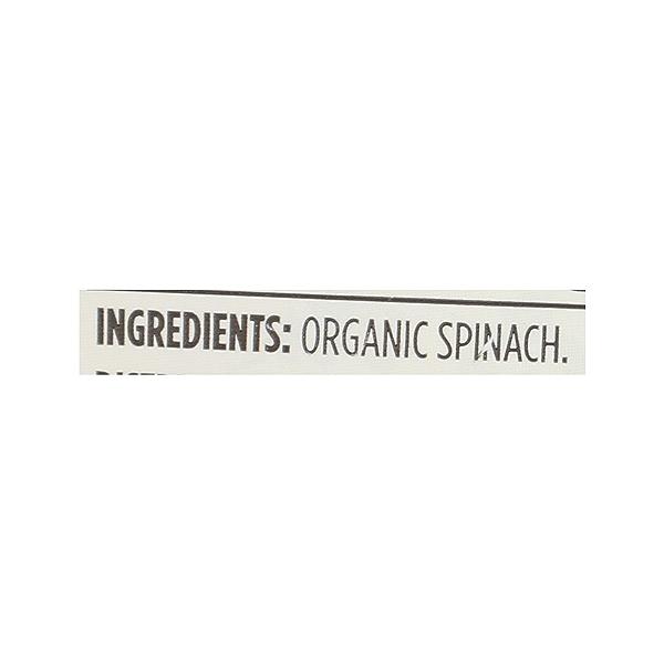 Organic Chopped Spinach, 16 oz 8
