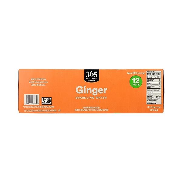Ginger Sparkling Water 12pk, 1.1 gal 6