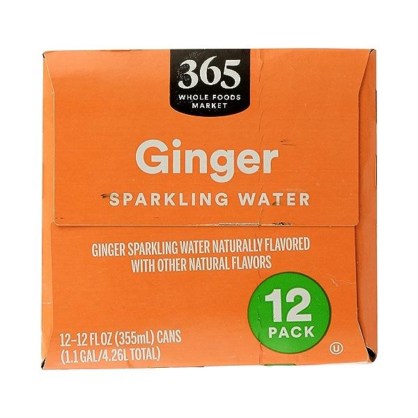Ginger Sparkling Water 12pk, 1.1 gal 2