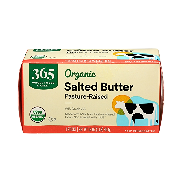 Organic Salted Butter, 16 oz 1