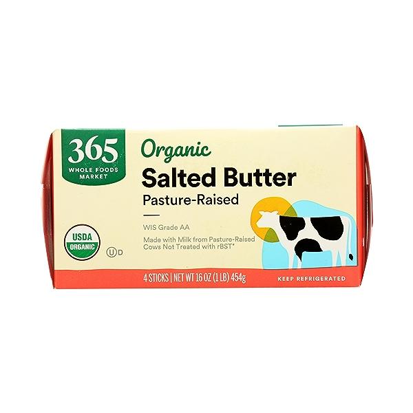 Organic Salted Butter, 16 oz 4