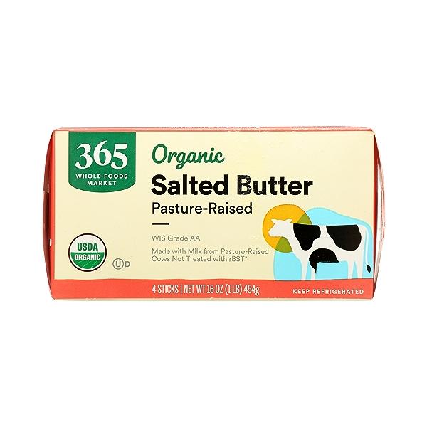 Organic Salted Butter, 16 oz 2
