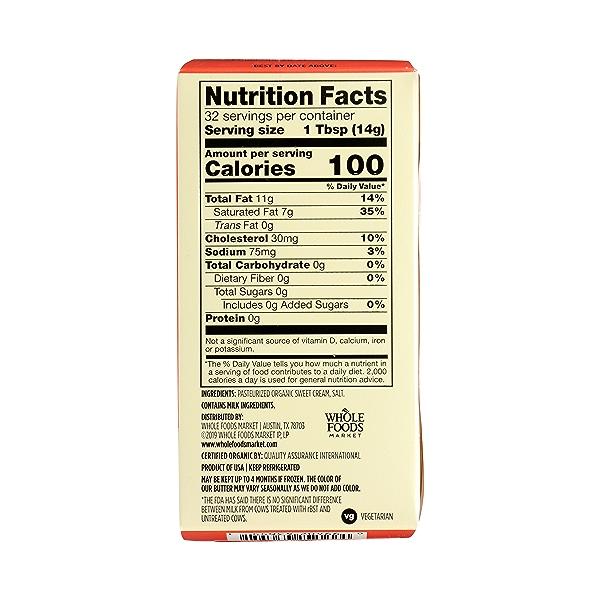Organic Salted Butter, 16 oz 6