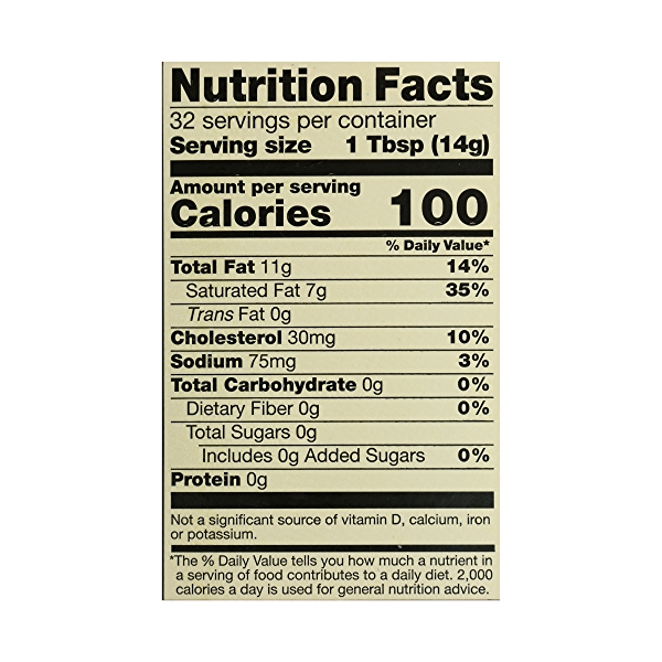 Organic Salted Butter, 16 oz 7
