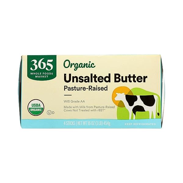 Organic Unsalted Butter, 16 oz 2