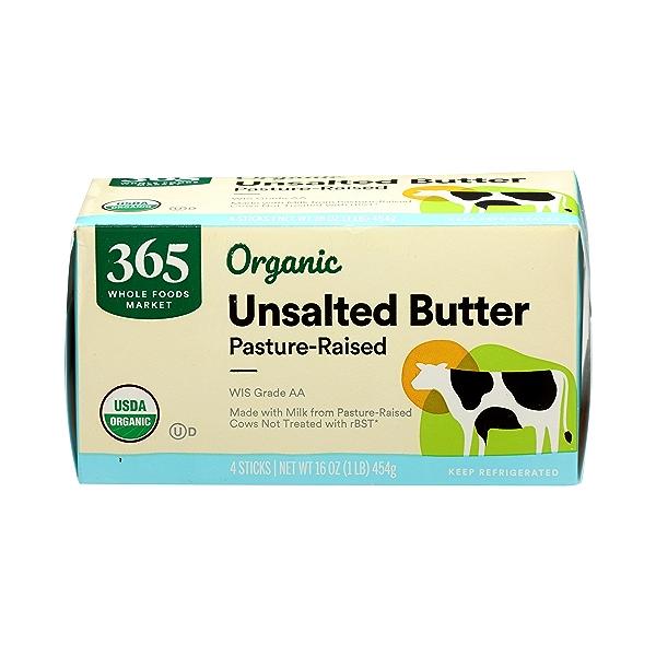 Organic Unsalted Butter, 16 oz 1