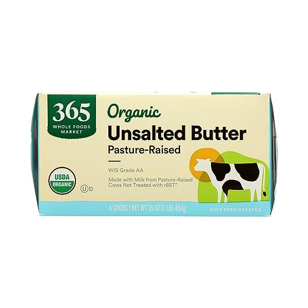 Organic Unsalted Butter, 16 oz 4