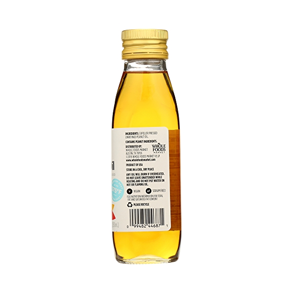 Roasted Peanut Oil, 8.4 fl oz 5