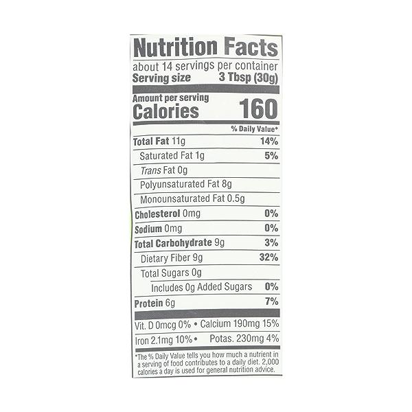Organic Black Chia Seed, 15 oz 7