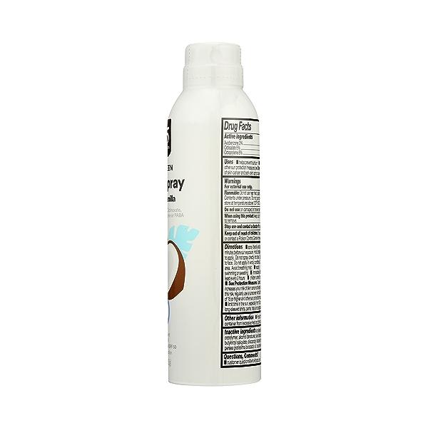 Clear Spray Coconut Vanilla Sunscreen, 5.3 oz 4