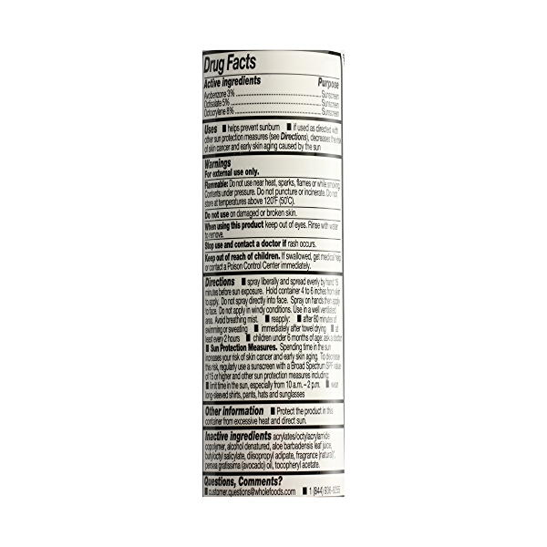 Clear Spray Coconut Vanilla Sunscreen, 5.3 oz 5