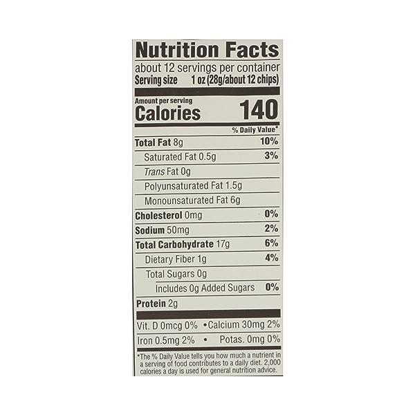 Organic Blue Corn Tortilla Chips, 12 oz 7