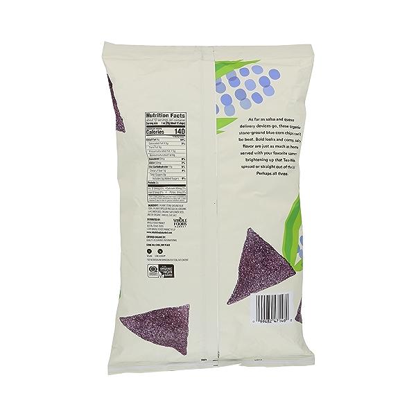 Organic Blue Corn Tortilla Chips, 12 oz 4