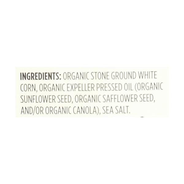 Organic Salted White Corn Tortilla Chips, 12 oz 4