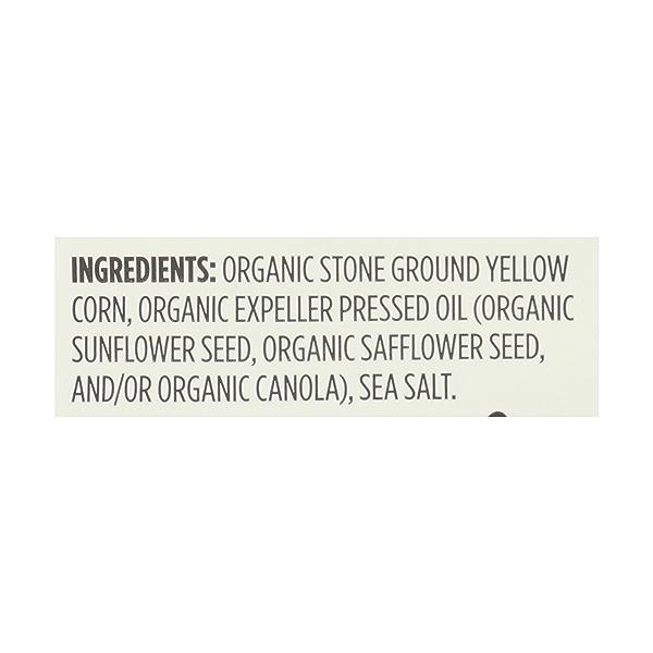 Organic Yellow Corn Tortilla Rounds Salted, 12 oz 8