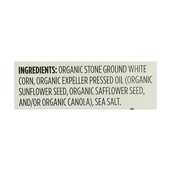 Organic Thin & Crispy White Corn Tortilla Chips, 12 oz 8