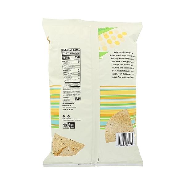 Organic Thin & Crispy White Corn Tortilla Chips, 12 oz 4