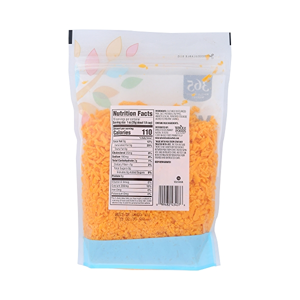 Shredded Mild Cheddar Cheese, 16 oz 4