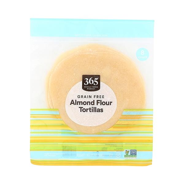 Grain Free Almond Flour Tortillas, 7 oz 1