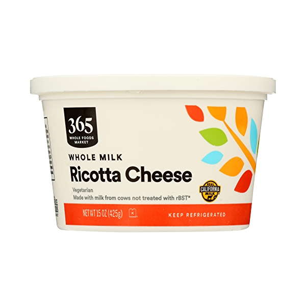 Whole Milk Ricotta Cheese, 15 oz 3