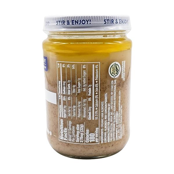 Organic Crunchy Raw Almond Butter, 12 oz 2