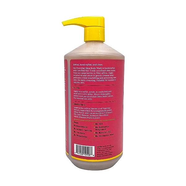 Shea Passionfruit Body Wash, 32 fl oz 3