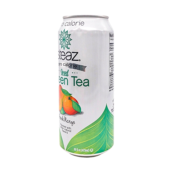 Peach Mango Iced Green Tea, 16 fl oz 4