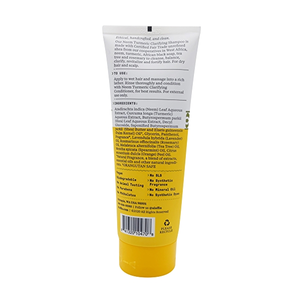 Neem Turmeric Shampoo, 8 fl oz 2