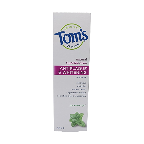 Spearmint Anti Plaque Gel Toothpaste, 4.7 oz 1