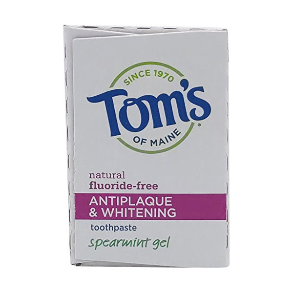 Spearmint Anti Plaque Gel Toothpaste, 4.7 oz 5