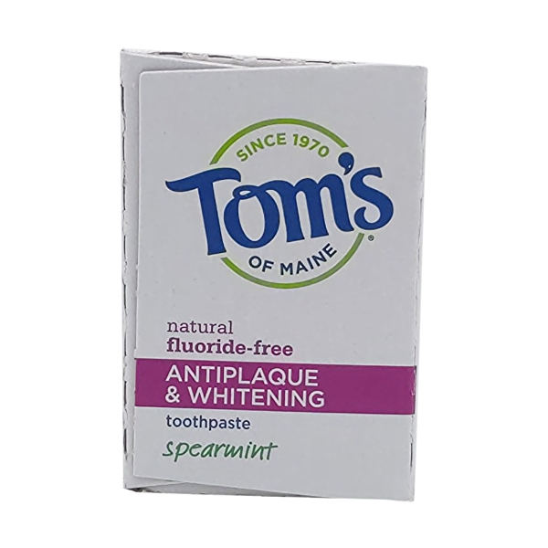 Antiplaque Whitening Spearmint Toothpaste, 5.5 oz 5