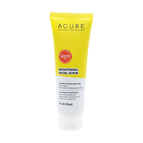 Facial Brightening Scrub, 4 fl oz 1