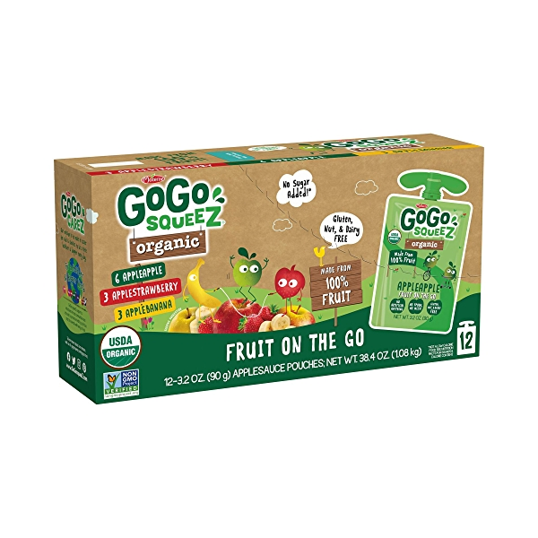 Organic Variety Pack 12pk, 38.4 oz 1