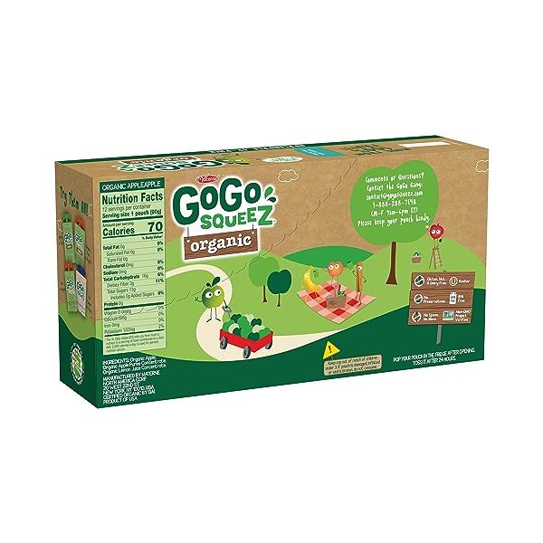 Organic Apple Apple Pantry Pack, 38.4 oz 2