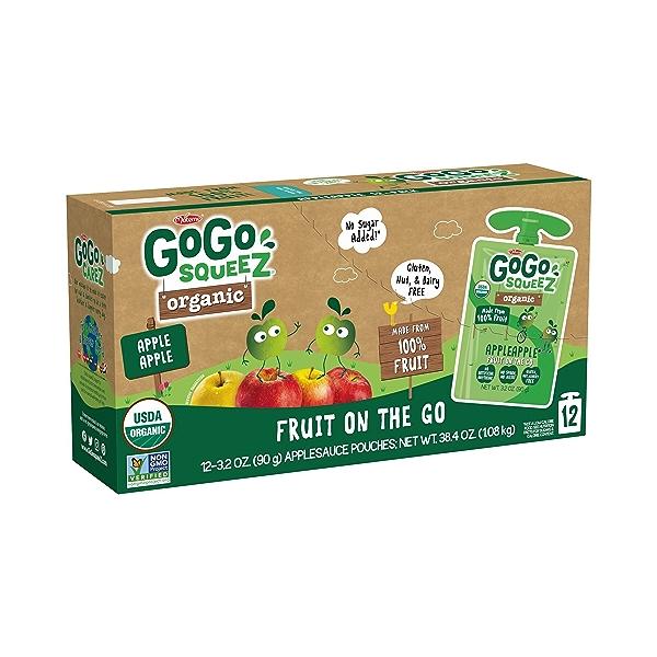 Organic Apple Apple Pantry Pack, 38.4 oz 1