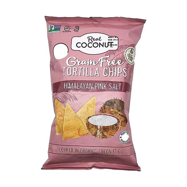 Organic Himalayan Pink Salt Tortilla Chips, 5.5 oz 1