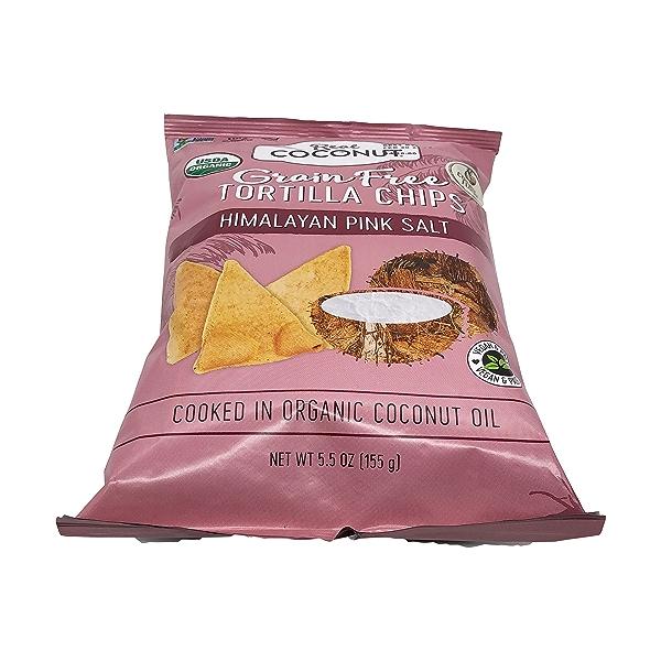 Organic Himalayan Pink Salt Tortilla Chips, 5.5 oz 5