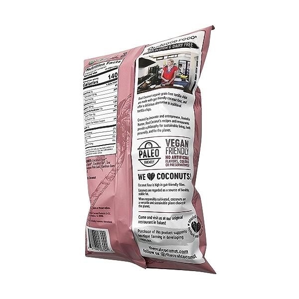 Organic Himalayan Pink Salt Tortilla Chips, 5.5 oz 3