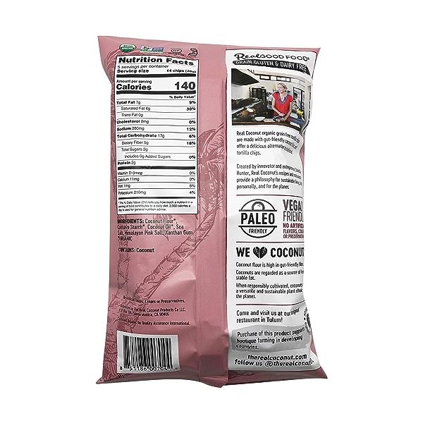 Organic Himalayan Pink Salt Tortilla Chips, 5.5 oz 2