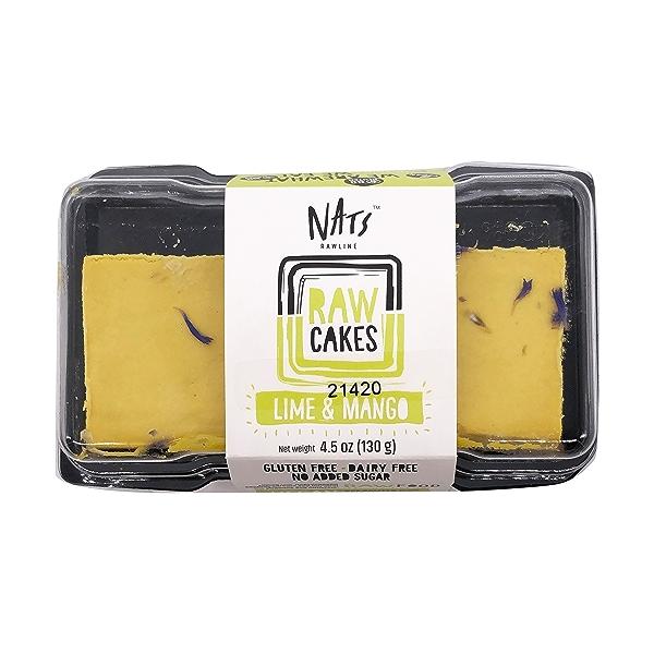 Lime & Mango Raw Cake, 4.5 oz 1
