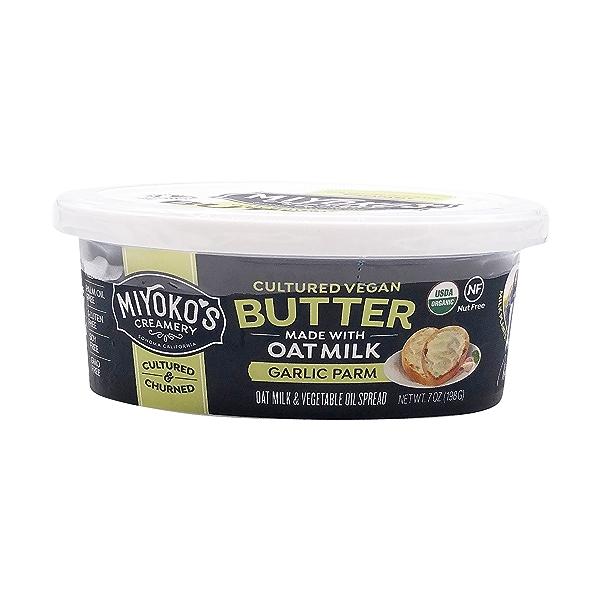 Organic Garlic Parm Oat Milk Butter, 7 oz 1