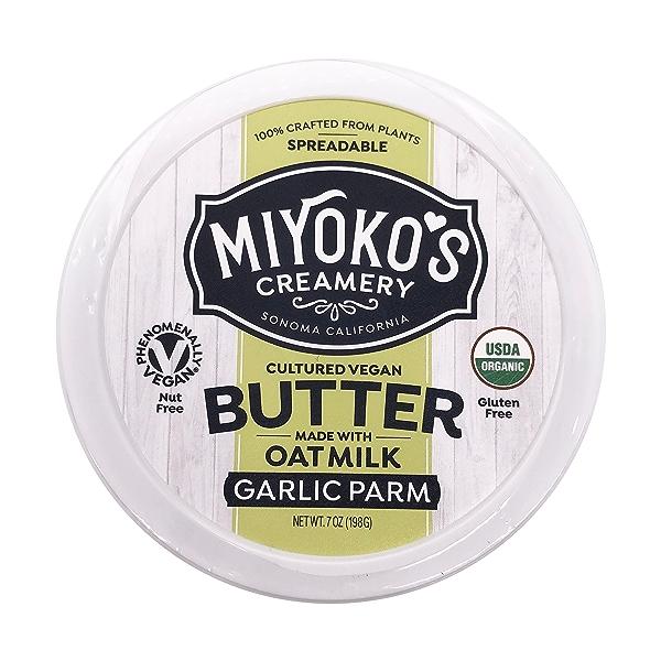 Organic Garlic Parm Oat Milk Butter, 7 oz 5
