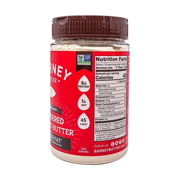 Unsweetened Powdered Almond Butter, 8 oz 3