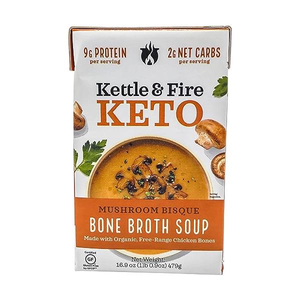 Mushroom Bisque Keto Soup, 16.9 oz 1
