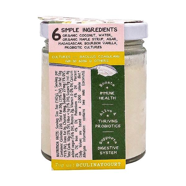 Coconut Yogurt Bourbon Vanilla, 5 oz 2