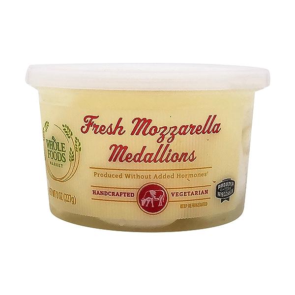 Fresh Mozzarella Medallions 1
