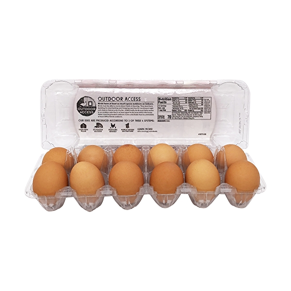 Cage-free Large Brown Grade A Eggs, 1 Doz. 2